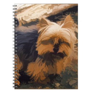 Little Yorkie   - Yorkshire Terrier Dog Spiral Note Books