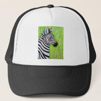 Little Zebra Trucker Hat