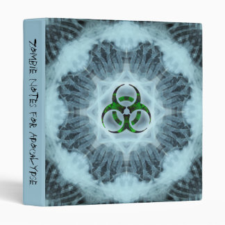 Little Zombie Kidz Biohazard Notebook 3 Ring Binder