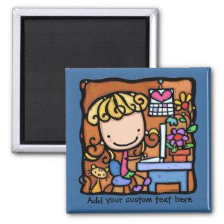 LittleGirlie aime au blog et au travail sur le BLE Aimant Pour Réfrigérateur