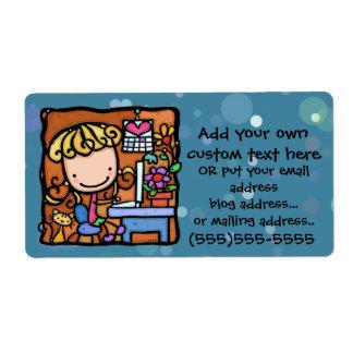 LittleGirlie aime se vendre sur ebay de maison Étiquette D'expédition