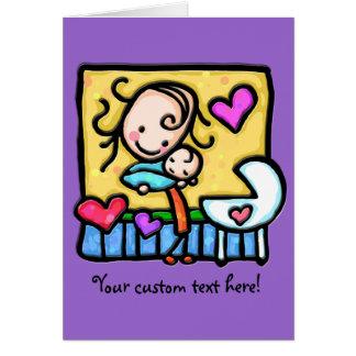 LittleGirlie aime son bébé ! Cartes