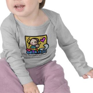 LittleGirlie aime son bébé ! T-shirt