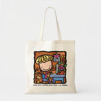 LittleGirlie is starting a blog! Budget Tote Bag