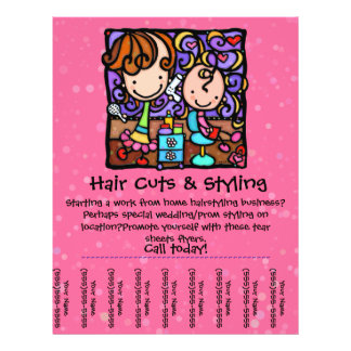 LittleGirlie stylist working from home! PINK Flyer