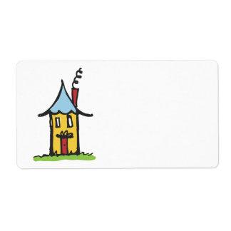 LittleHouse Shipping Label
