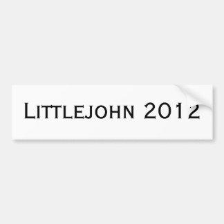 Littlejohn 2012 autocollant de voiture