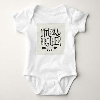 Littlest brother onsie baby bodysuit