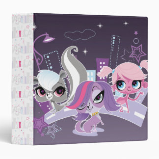 Littlest Pets in the Big City 2 Binder
