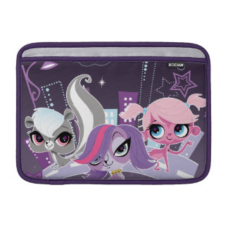 Littlest Pets in the Big City 2 MacBook Sleeves
