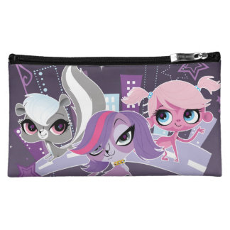Littlest Pets in the Big City 2 Makeup Bags