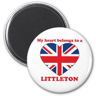 Littleton 2 Inch Round Magnet