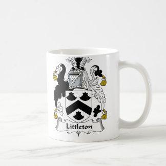 Littleton Family Crest Coffee Mug