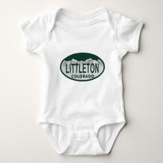 Littleton license oval baby bodysuit