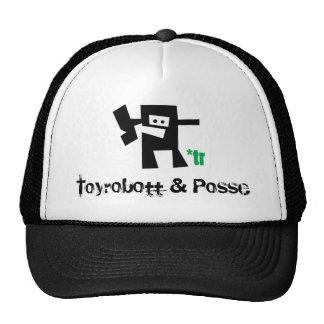 littletrbot_sticker, Toyrobott & Posse Trucker Hat