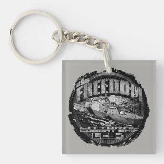 Littoral combat ship Freedom Acrylic Keychain