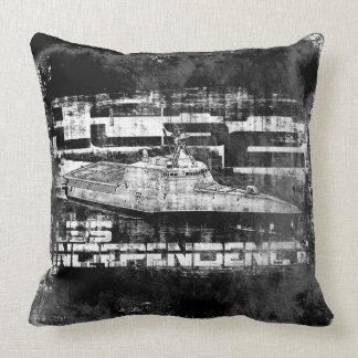 Littoral combat ship Independence Dawsonsf throwp Throw Pillow