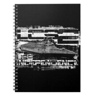 Littoral combat ship Independence Spiral Photo No Spiral Notebook