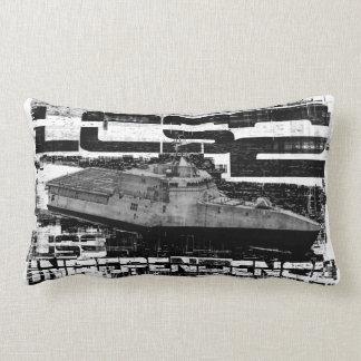 Littoral combat ship Independence Your Custom Lum Lumbar Pillow