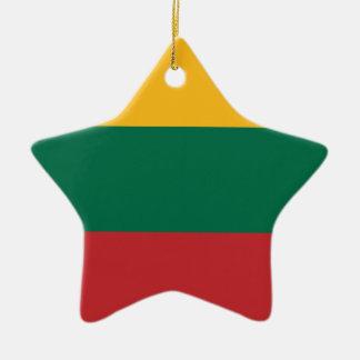 Lituania Ceramic Ornament