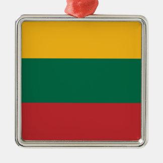 Lituania Metal Ornament
