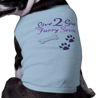 Live2Give Doggie Ribbed Tank Top Pet T-shirt