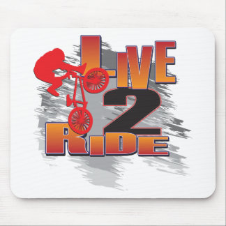 LIVE-2-RIDE-BMX MOUSE PAD