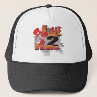 LIVE-2-RIDE-BMX TRUCKER HAT