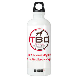 Live a Brown Dog Life Sports Bottle (Sigg)