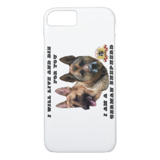 Live and Die For You German Shepherd iPhone 7 iPhone 7 Case