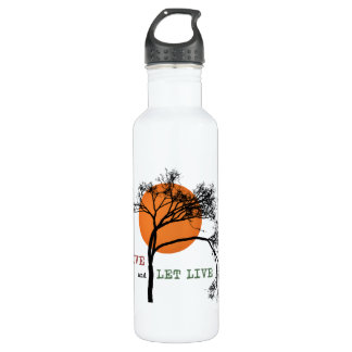 Live and Let Live (Recovery Silhouettes) 710 Ml Water Bottle
