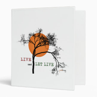 Live and Let Live (Recovery Silhouettes) Binders