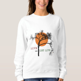 Live and Let Live (Recovery Silhouettes) Sweatshirt
