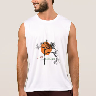 Live and Let Live (Recovery Silhouettes) Tank Top