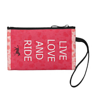 Live and Ride Wristlet