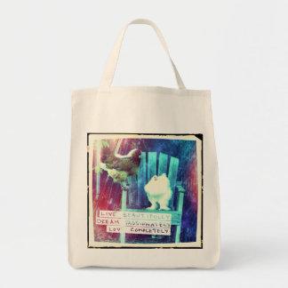Live Beautifully Tote Bag