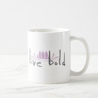Live Bold Coffee Mug