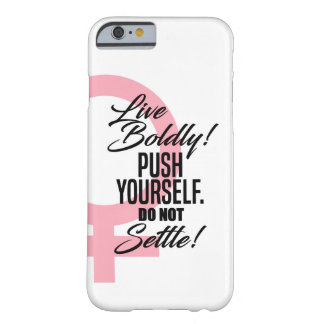 'Live Boldy' iPhone Case for Women