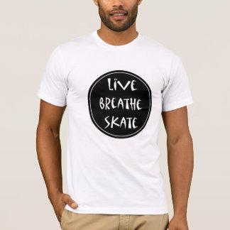 Live Breathe Skate T-Shirt