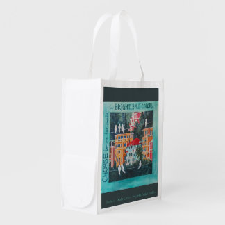 Live Bright and BOLD! Reusable Grocery Bag