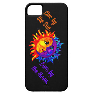 Live by the Sun Love by the moon phone case/cover iPhone 5 Cases