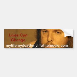 Live Can Change Bumper Sticker