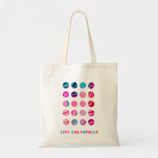 Live Colorfully - Bold & Happy Tote