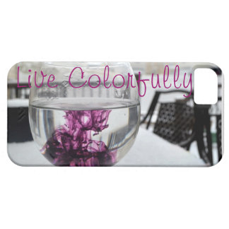 Live Colorfully iPhone 5 Covers