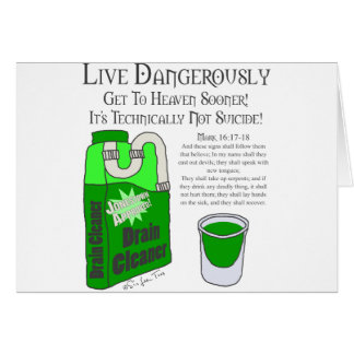 Live Dangerously Card