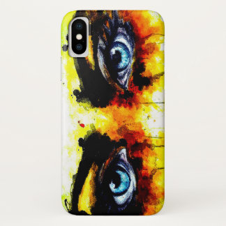 Live Eyes iPhone X Case