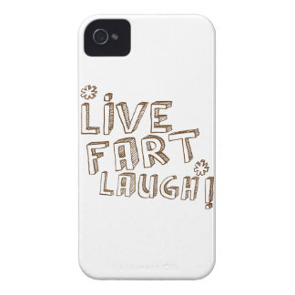 *LIVE FART LAUGH! iPhone 4 Case-Mate CASES