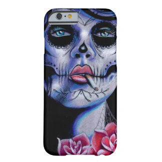 Live Fast Die Young Day of the Dead Portrait Barely There iPhone 6 Case