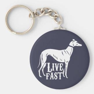 Live Fast Keychain