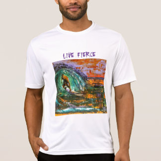 Live Fierce Men's short sleeve T-Shirt